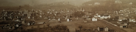 1897 View of Elkins. Courtesy of Beverly Heritage Center.