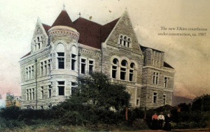 The Randolph County Courthouse in 1907. Courtesy of the Beverly Heritage Center